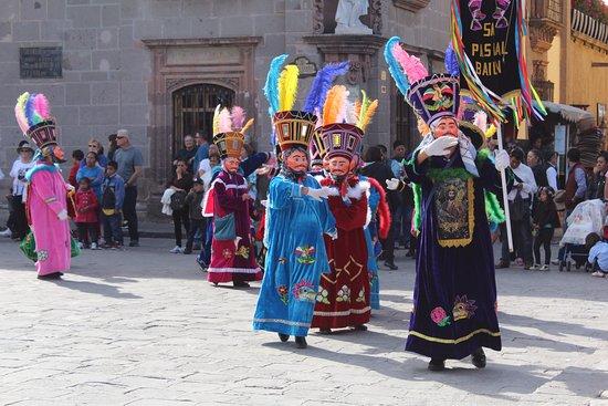 Queretaro, Mexico: Las danzantes