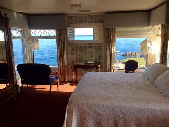 "Martine Inn: This is the room called ""Marie"". Look at those views!"