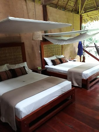 بوسادا أمازونس: Twin beds