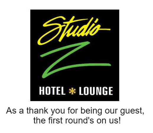 Saint Robert, MO: One Free Drink Voucher given to guest upon check-in.  Use the voucher in our Retro Lounge.