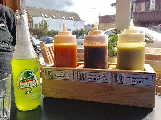 Cumberland, Canada: House-made condiments