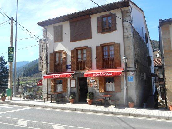 Cillorigo de Liebana, Spanyol: entrada do restaurante