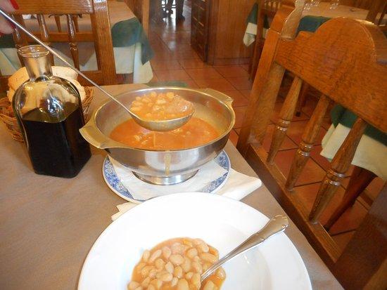 Cillorigo de Liebana, Spania: fabada com embutidos