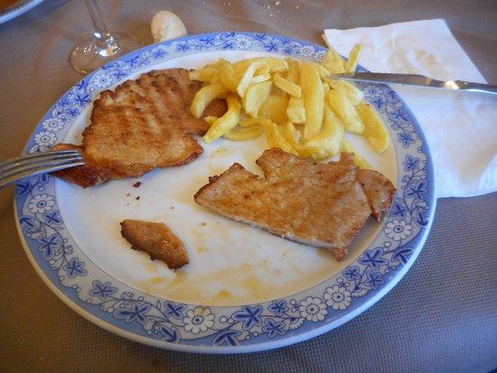 Cillorigo de Liebana, Spania: escalopes de carne
