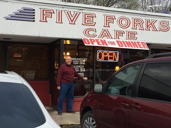 Five Forks Cafe Menu