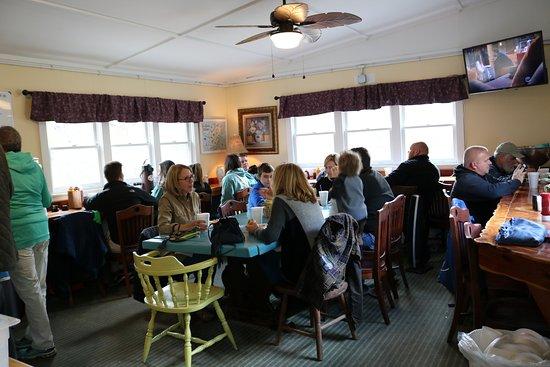 Daufuskie Island, เซาท์แคโรไลนา: Inside Dining View