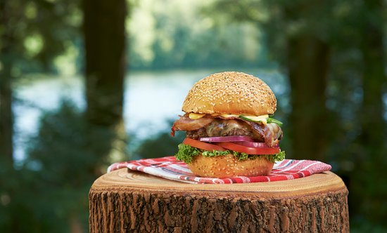 "Turtle Jack's Muskoka Grill: This is one ""Hell-OF-A-Burger""! Choose from a list of mouth watering burgers."