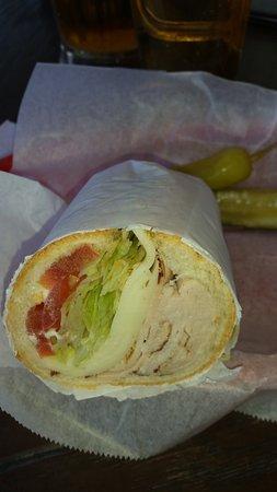 La Canada Flintridge, Καλιφόρνια: Scooped Out Bun! Turkey-2