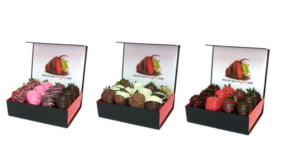 Chocolate Dipped Strawberry Gift Boxes Includes Gift Bag And Gift Card Picture Of Wicked Berries Coffs Harbour Tripadvisor