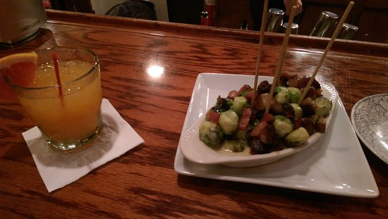 The Global Grill: Brussel Sprouts and a Deeper South to drink