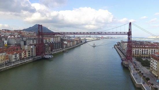 Provincia de Vizcaya, España: Puente bizkaia