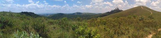 "Varzea Paulista: Landscape on the top of ""Serra do Mursa"""