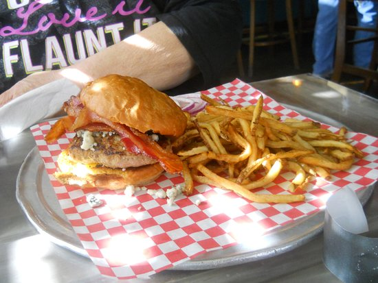 Photo of American Restaurant Stacked Burger Bar at 7637 Ivory Ave, Saint Louis, MO 63111, United States