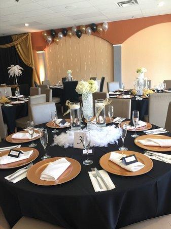 Banquet room set up Picture of El Patio Original Tracy TripAdvisor
