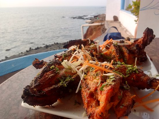 Anjuna, India: THE food is good