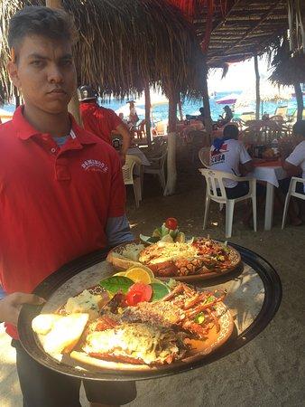 Domingo's: Grilled Lobster w Garlic