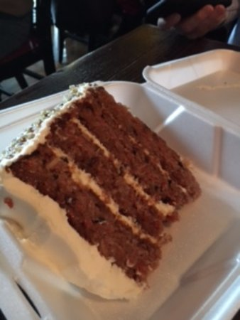 Carrot Cake Picture Of The Loft Columbus Tripadvisor