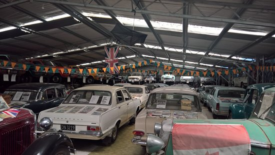 British Car Museum: Treasures in the shed