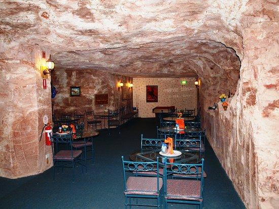 Coober Pedy, Australia: Dining room