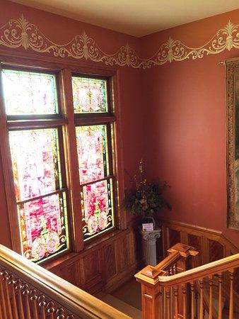 Wausau, WI: Stair case to 2nd floor