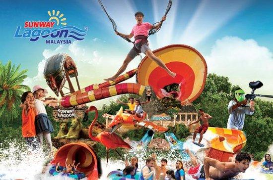 En dagspass: Sunway Lagoon Malaysia