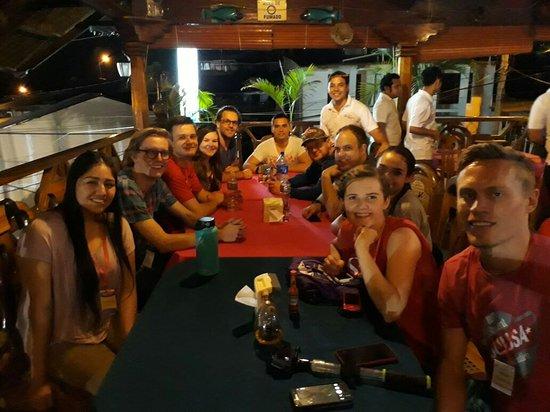 San Carlos, Nikaragua: Restaurant Kaoma