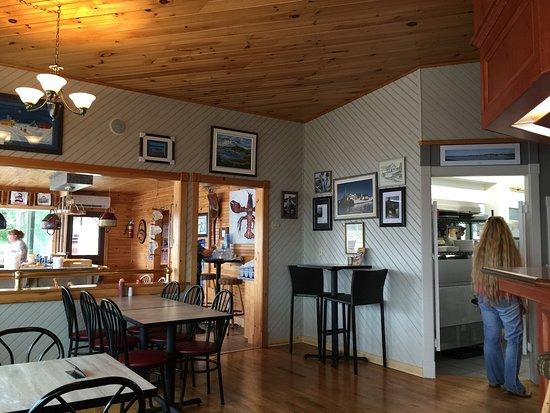 Stanley Bridge, Canada: Dinning room