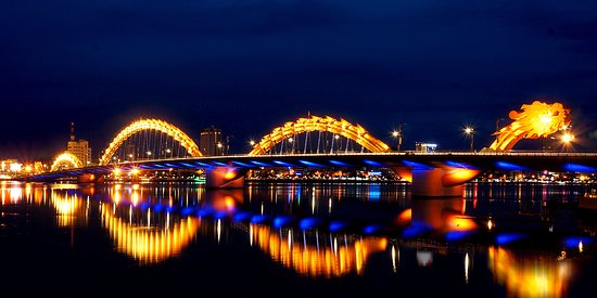 Image result for DRAGON BRIDGE da nang viet nam