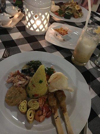 Ausgezeichnetes Dinner
