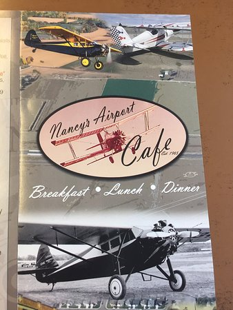 Willows, Californië: Nancy's Airport Cafe