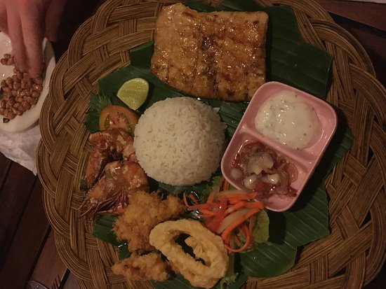 Anturan, Endonezya: Seafood Platter