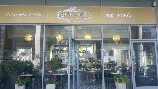 Gelateria Siciliana : הכניסה