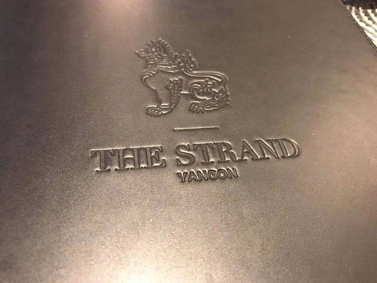 The Strand: Menu