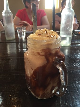 Longford, Australia: Iced Chocolate