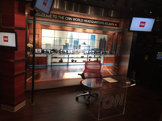 cnn center inside cnn studio tour picture of cnn