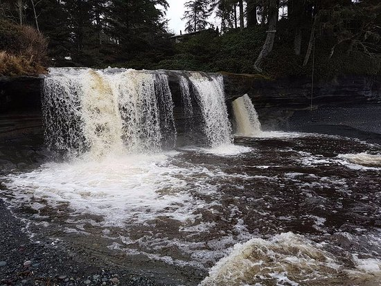 Sooke, Canada: Waterfall