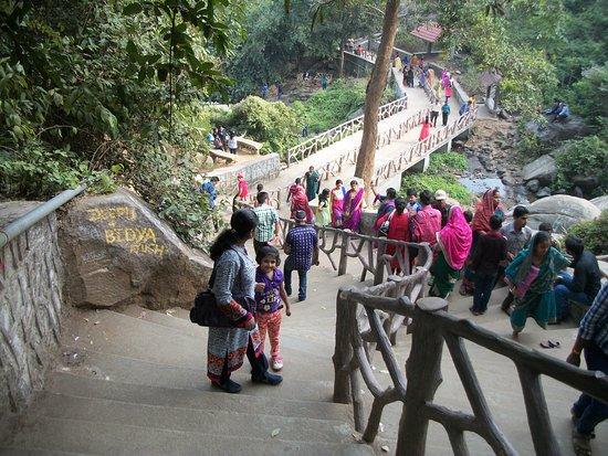 Panchalingeswar Temple: Pancha Lingeswar Temple Stairs
