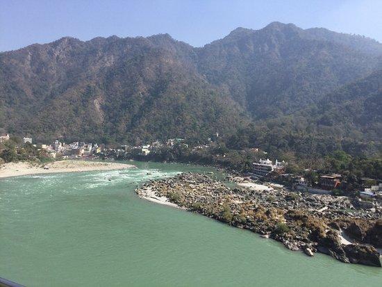 Ganga Beach Resort The Beautiful Holy Ganges River And Celebrations Rishikesh