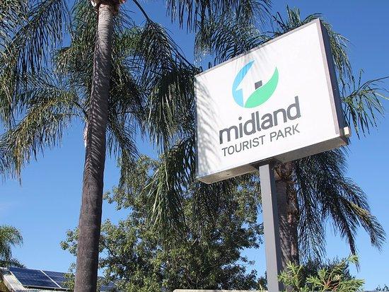 Middle Swan, Australië: Park signage