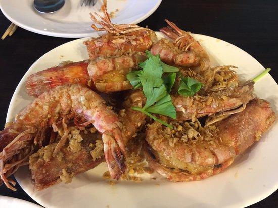 Rawai, Thailand: 새우요리