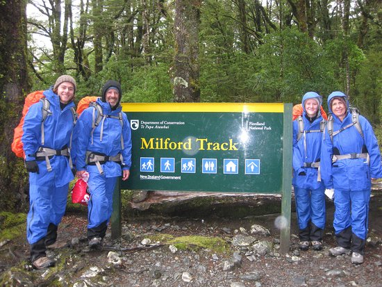Milford Track: Ready for all sorts of weather