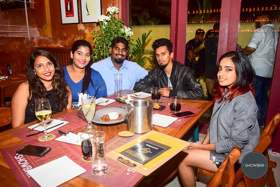dine with friends picture of showbar candolim tripadvisor