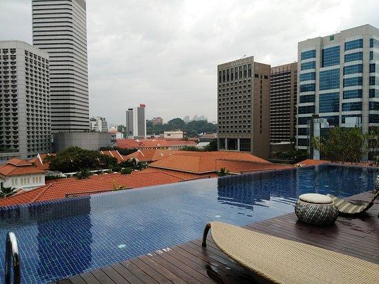 Naumi Hotel: Rooftop pool