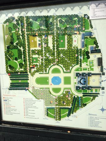 Plan du jardin du luxembourg picture of luxembourg - Jardin du luxembourg hours ...
