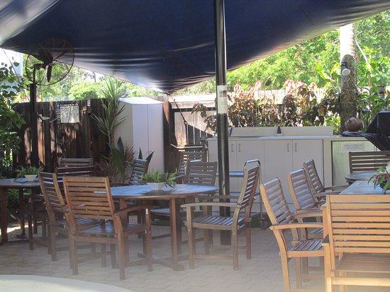 Wongaling Beach, Australien: BBQ area