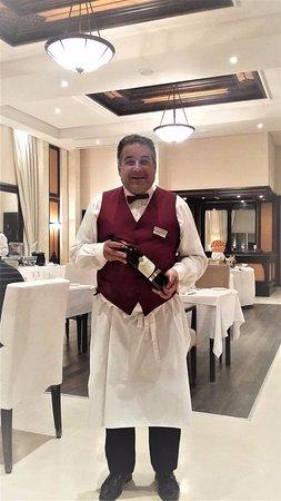 فندق عزيزة ثالاسو جولف: sans oublier le chef sommelier Fethi Ben Rjiba