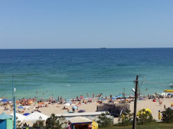 Chornomorsk, ยูเครน: Пляж