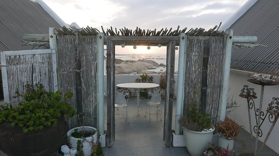 The Oystercatcher's Haven at Paternoster: Room 2 terrasse; view from the deck chairs