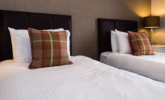 Derrybeg Bed and Breakfast: Twin Room at Derrybeg Pitlochry