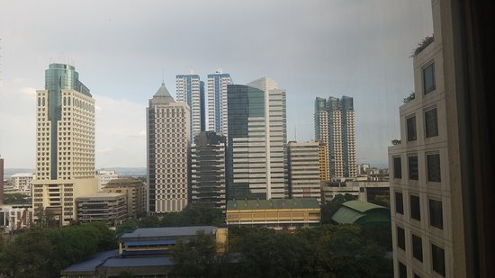 Edsa Shangri-La: view from the 11th floor